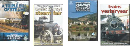 Railway dvd's for sale