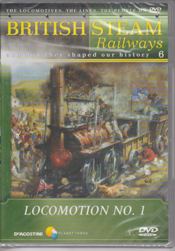British steam Railways #6: Locomtion No. 1