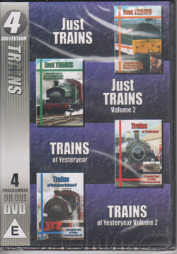 Trains - 4 on 1 dvd collection